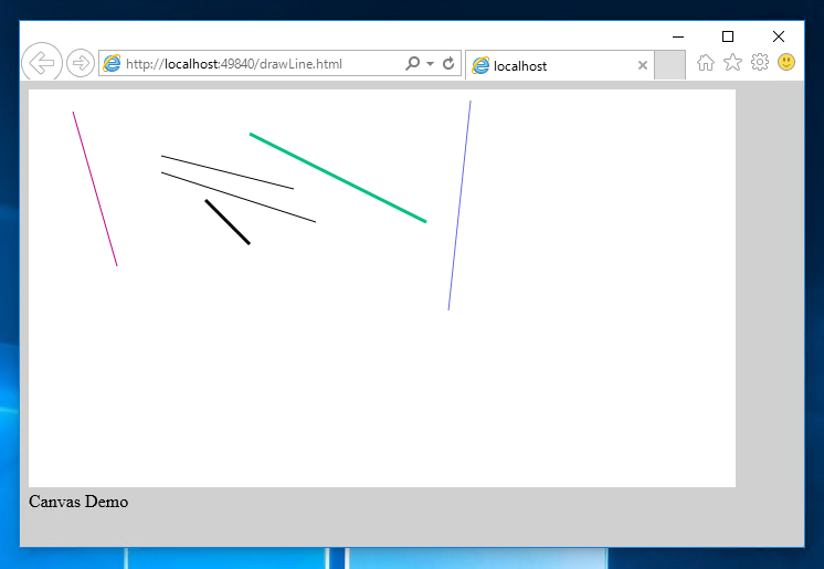 Drawing Smooth Lines Canvas : Javascript html canvas を利用して線を描画する